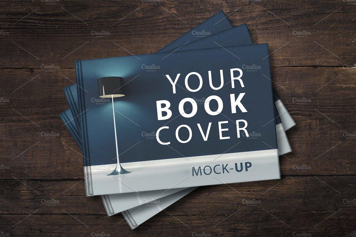 Sale Landscape Book Cover Mockup Print Mockups