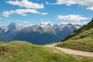 Closeup Mountain Scenes, Switzerland