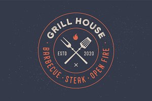 Logo for Grill House restaurant