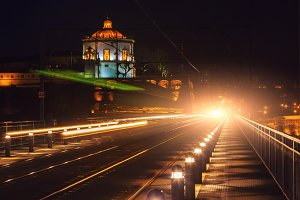 The Bridge of Dom Luiz in Porto at