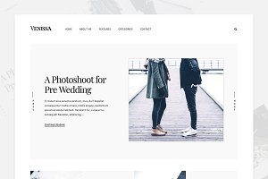On-trend WordPress Blog Theme