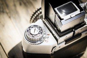 Vintage Camera Close Up