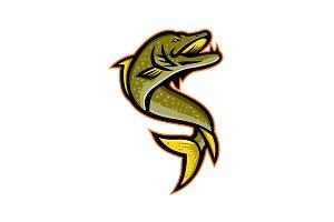 Northern Pike Sports Mascot
