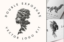 DOUBLE EXPOSURE VECTOR LOGO KIT by Thomas Cunningham in Templates