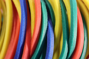 Many Colored Rubbers Texture