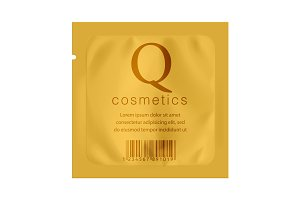 Gold Packaging Foil for cosmetics