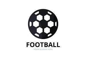 Vector soccer and sport logo