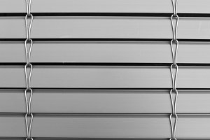Shutter Detail in Black and White