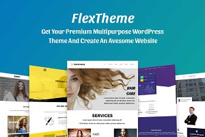 FlexTheme Multi-Purpose WP Theme