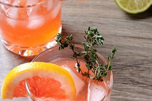 This Grapefruit and Thyme Bourbon
