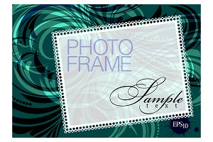 Photo Frame in retro style