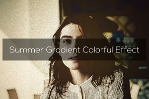 Summer Gradient Colorful Effect