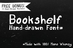 Bookshelf Font + Bonus