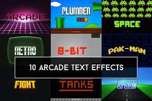 Arcade Text Effects