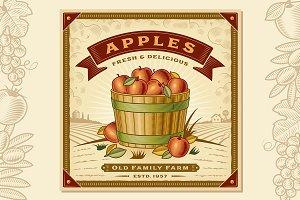 Apple Harvest Label