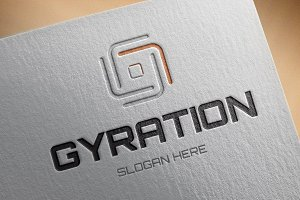 Gyration Logo Template
