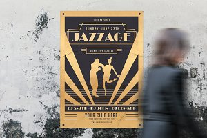 Jazz Age Party Flyer