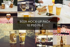 Beer Bottle 10 PSD Pack #2