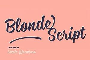 Blonde Script —50% Off