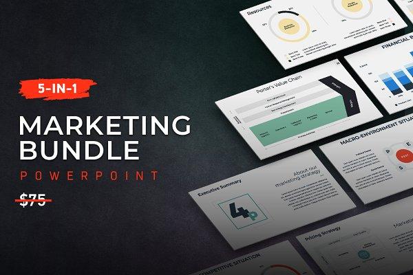 5-in-1 Marketing PowerPoint Bundle