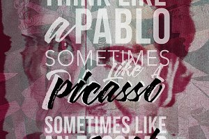 Alterego Pablo Poster by Retouchlab