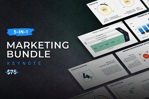 5-in-1 Marketing Keynote Bundle