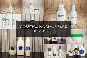 Cosmetics Mock-up 10 PSD Pack #1