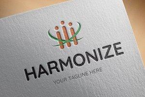 Harmonize Logo Template