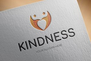 Kindness Logo Template