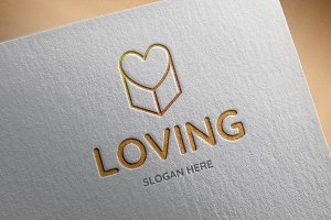 Loving Logo Template