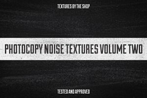 Photocopy noise textures volume 02