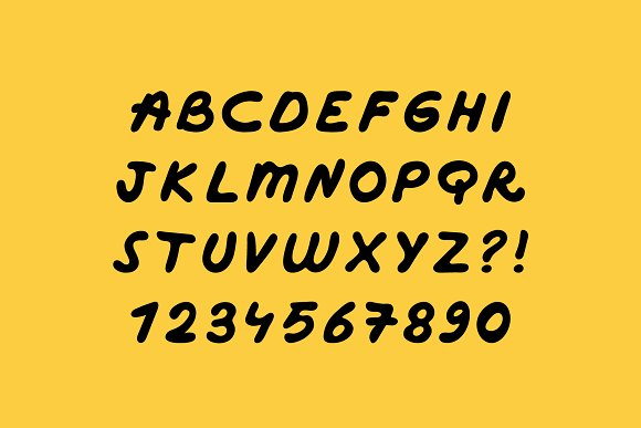 Handwritten Marker Font in Sans-Serif Fonts - product preview 1