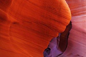 Color slot canyon Antelope