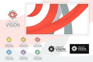 Linguist Vision Logo Templates