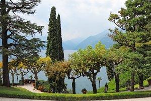 historic villa on Lake Como.