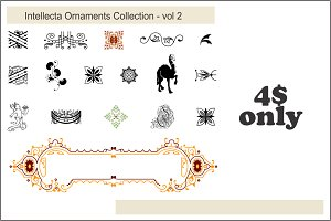 Intellecta Ornaments Collection 2