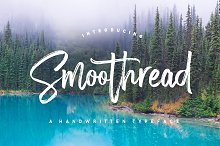 Smoothread Font by Dhan Studio in Script Fonts