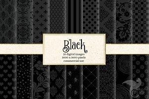 Black Digital Paper