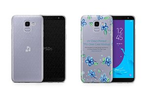 Galaxy J6 2018 UV TPU Clear Case