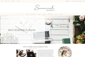 Wordpress Theme Savannah