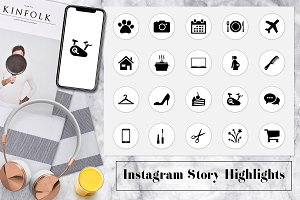 Minimal Instagram Story Highlights