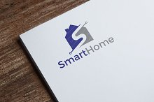 Smart Home logo Template