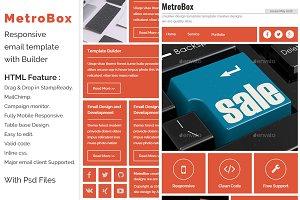MetroBox - Responsive Email template