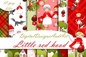 Red riding hood patterns