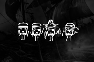 Illustration | PIRATES CREW