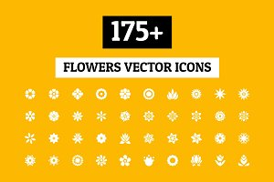 175+ Flowers Vector Icons