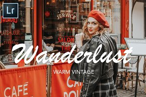 Wanderlust| Blogger Lightroom Preset
