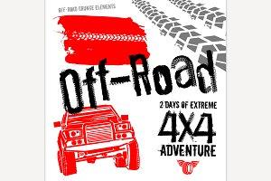 Off Road Grunge Set