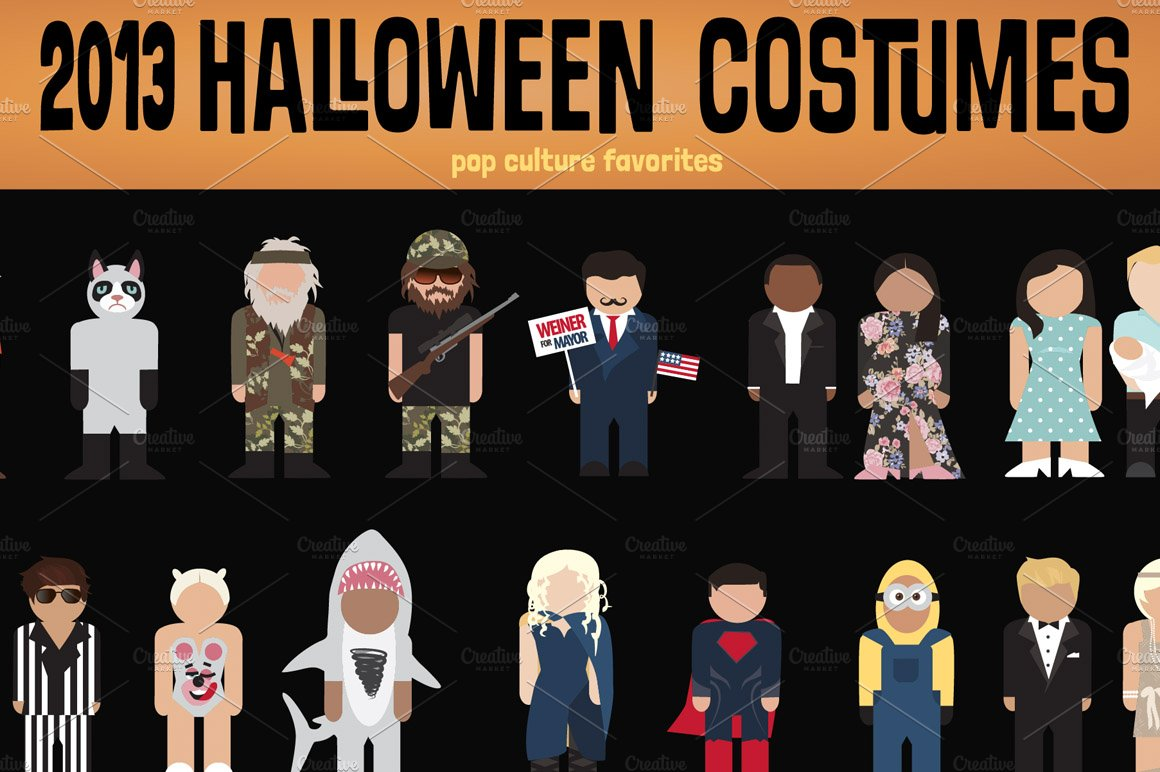 2013 halloween pop culture costumes - Halloween Pop Culture