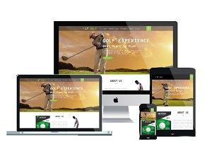 LT Golf Onepage – Golf Joomla